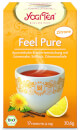 Feel Pure Lemon Yogi Tea organic, 17 teabags