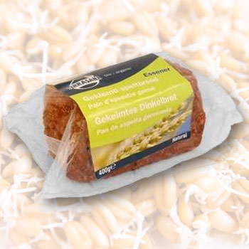 Sprouted Spelt bread organic, natural, 400 g