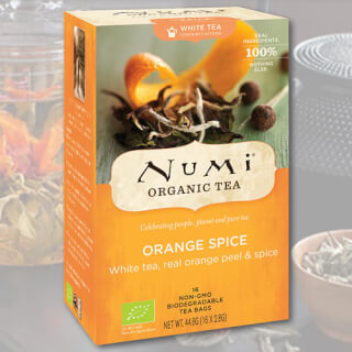 Orange Spice Numi Tea organic, 16 teabags