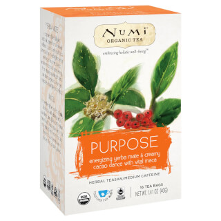 Purpose - Mate - Numi Tea organic, 16 teabags