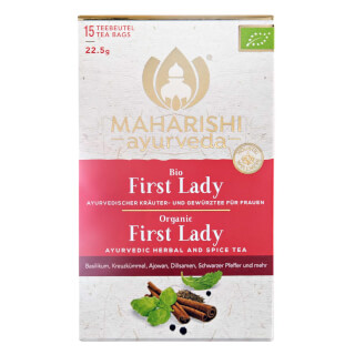 Tisane First Lady bio, Maharishi, 15 sachets
