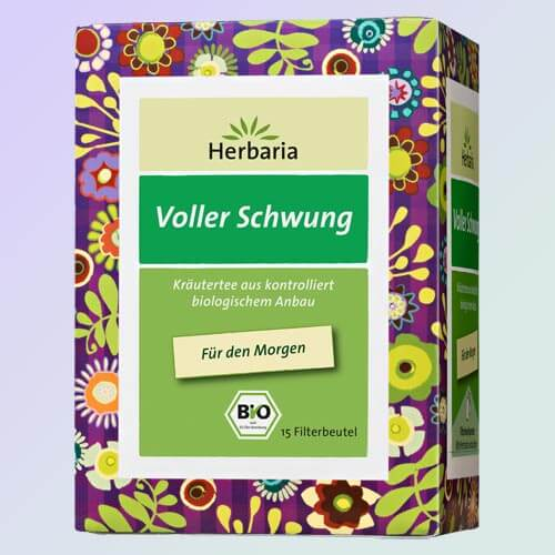 Full Swing organic herbal tea, 15 teabags