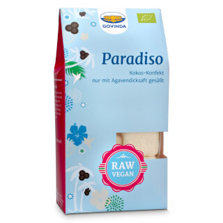Paradiso Confectionary organic, 100 g