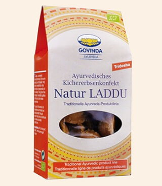 Laddu Natural organic chickpeas confectionery, 120 g