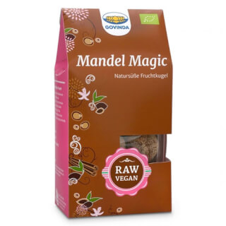 Mandel Magic Kugeln Bio, 120 g