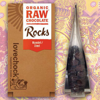 Lovechock Rocks Almond-Cinnamon, 80 g