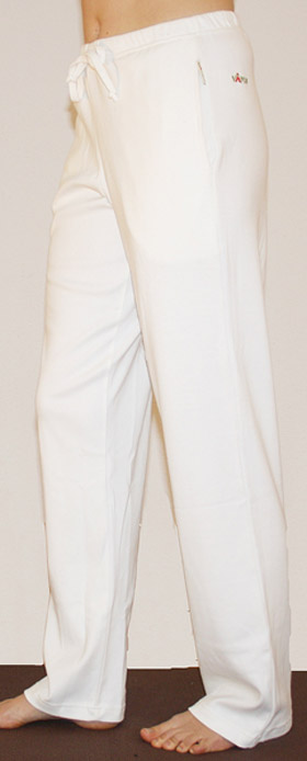 Ajara Yoga trousers, White