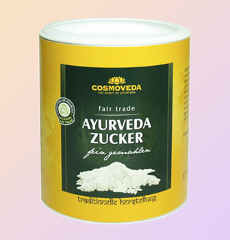 Ayurveda Sugar Fair Trade, 400 g LARGE