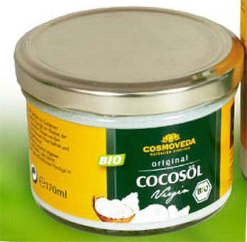 Virgin Coconut Oil Kokos�l Bio, 170 ml