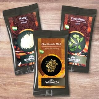 Cosmoveda organic single spices