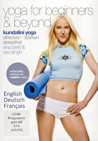Yoga for Beginners & Beyond - Ana Brett, Ravi Singh DVD