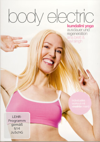Body Electric - Ravi Singh & Ana Brett DVD