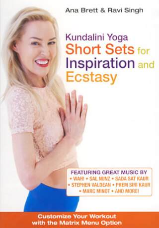 Short Sets for Inspiration & Ecstasy - Ana Brett & Ravi Singh DVD