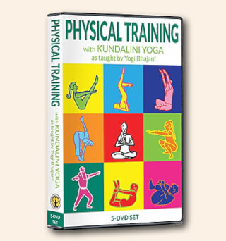 Physical Training with Kundalini Yoga - Yogi Bhajan 5 DVDs