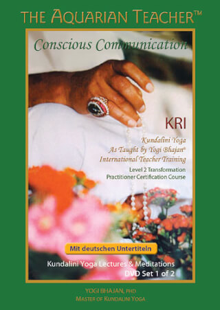 Conscious Communication - Yogi Bhajan, 6 Videos (DVD | USB)