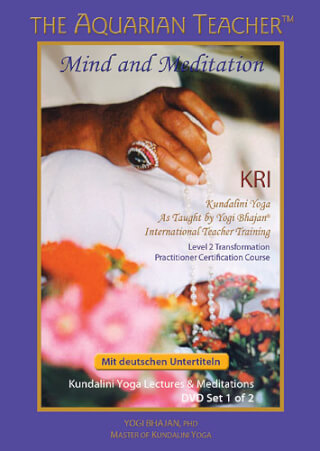 Mind & Meditation - Yogi Bhajan, 7 Videos (DVD | USB)