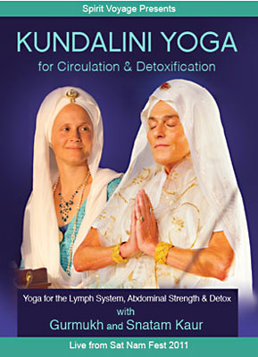 Kundalini Yoga for Circulation & Detoxification - Gurmukh & Snatam Kaur DVD