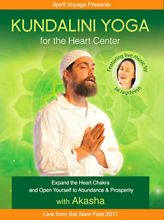 Kundalini Yoga for the Heart Center - Akasha DVD