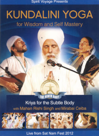 Kundalini Yoga for Wisdom & Self-Mastery - Mahan Rishi Singh DVD