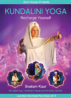Recharge Yourself - Kundalini Yoga with Snatam Kaur DVD