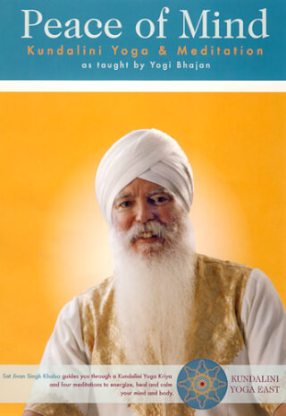 Peace of Mind - Sat Jiwan Singh Khalsa DVD