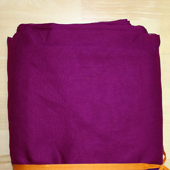 Turban cloth Voile, Deep Pink, 1 meter
