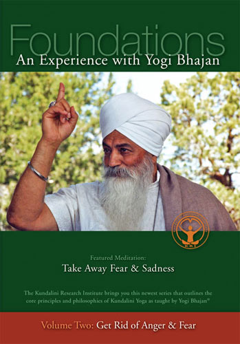 Get Rid of Anger and Fear - Yogi Bhajan DVD