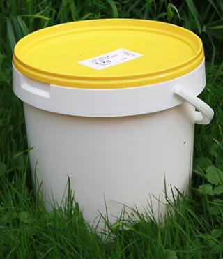 Ghee organic in Bioland quality 5 kg bucket