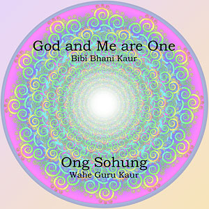 God and Me are One & Ong Sohung CD