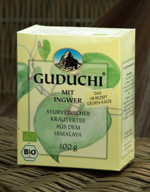 Guduchi Ginger Tea bio, 100 g