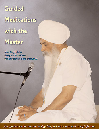 Guided Meditations with the Master - Yogagems avec Yogi Bhajan