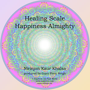 Healing Scale & Happiness Almighty - Nirinjan Kaur CD