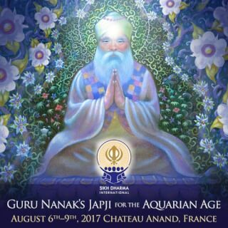 Japji Course for the Aquarian Age, August 6 - 9, 2017