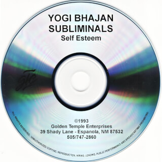 Yogi Bhajan Subliminals: Self Esteem CD