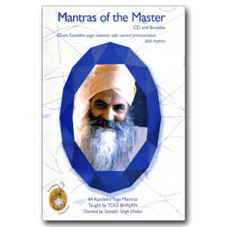 Mantras of The Master - Santokh Singh CD