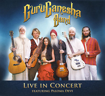 GuruGanesha Band: Live in Concert CD