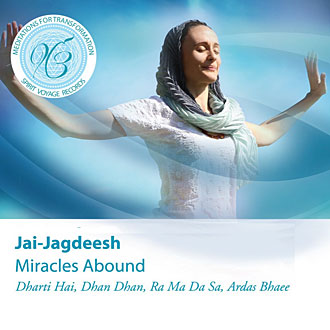 Miracles Abound - Jai-Jagdeesh CD