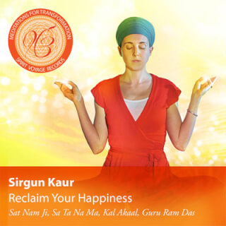 Reclaim Your Happiness - Sirgun Kaur CD