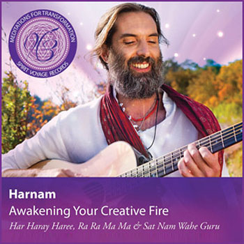 Awakening Your Creative Fire - Harnam CD