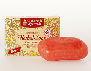 Maharishi Rose Herbal Soap Mtc, 100 g