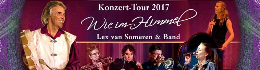 "Lex van Someren ""Like in Heaven"" Tour 2017"
