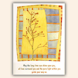 "Postcards ""May The Longtime Sun Shine..."", 10 pcs."