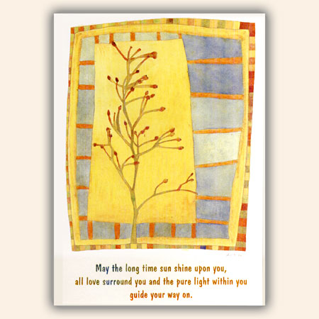"Postkarten ""May The Longtime Sun Shine..."", 10 St�ck"