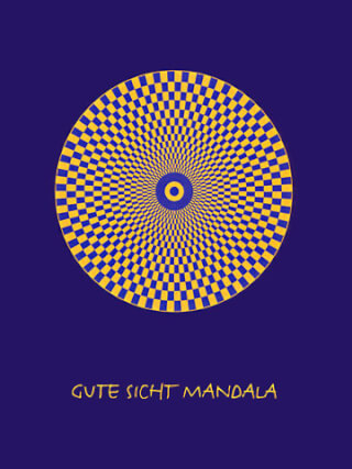 Good Sight Mandala, format 21 x 28 cm