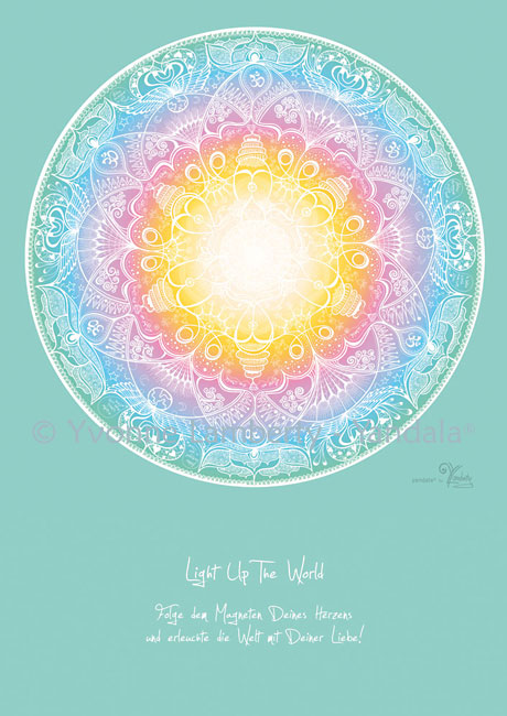 "Yandala Poster ""Light Up The World"""