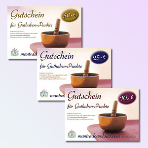 Mantra Download Gutscheine