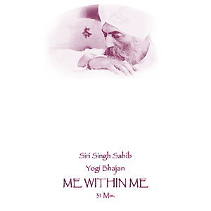 Me within Me - Affirmation by Yogi Bhajan CD