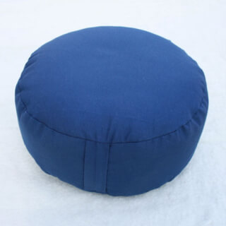 Meditation cushion Classic, round, Dark Blue