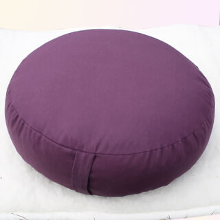 Meditation cushion Sitting Isle, Aubergine