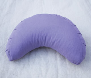 Moon Meditation cushion, Lilac